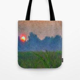 Morning Meadow Tote Bag