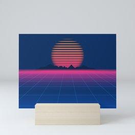 Sci-Fi and Fiction Background Mini Art Print