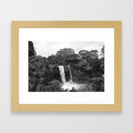 Monochrome Rainbow Framed Art Print