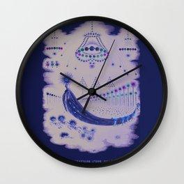 Comet Procession Wall Clock