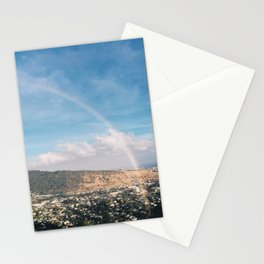 Rainbow All the Way - Hawaii Stationery Cards