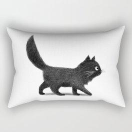 Creeping Cat Rectangular Pillow