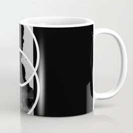 Capture A Fleeting Thought - Abstract Conceptual Black And White Coffee Mug