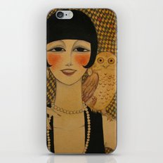 She said she worked in a cabaret singin' duets with an owl iPhone & iPod Skin