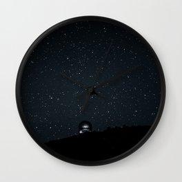 Under the Night Wall Clock