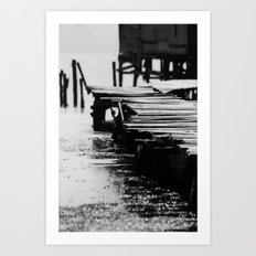 Fisher Dock Art Print