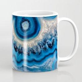 Blue wave Agate Coffee Mug