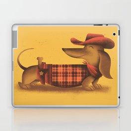 Sheriff Dachshund Laptop & iPad Skin