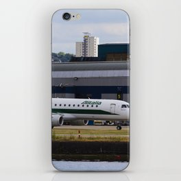 Alitalia  Embraer ERJ-190 London City Airport iPhone Skin