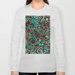 Jack Turquoise/Brown Long Sleeve T-shirt