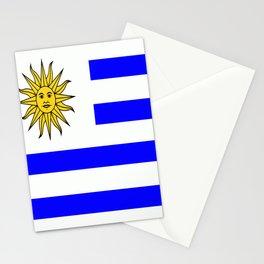 Flag of Uruguay Stationery Cards