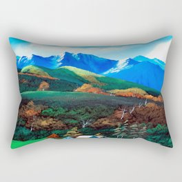 Autumnal leaves of Sinsyu Rectangular Pillow