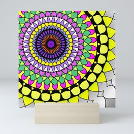 Mandala fun Mini Art Print