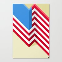 flag Canvas Prints featuring Flag by Ryan Winters