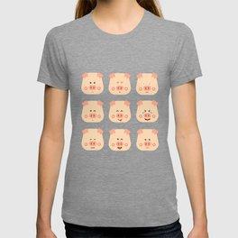 Year of the Pig Chinese New Year 2019 Zodiac Shirt Dark Light T-shirt