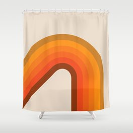 Harvest Corner Bow Shower Curtain