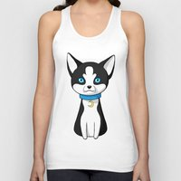 husky Tank Tops featuring Husky by Freeminds