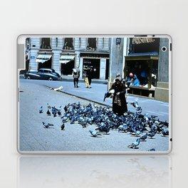 Days Long Past: Pigeon Lady Laptop & iPad Skin