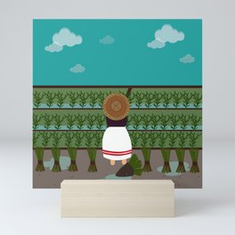 Inspired by Assam Mini Art Print
