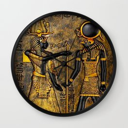 Egyptian Gods Wall Clock