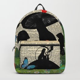 Every Adventure Requires a First Step - Alice In Wonderland Backpack