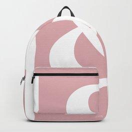 Ampersand pink Backpack