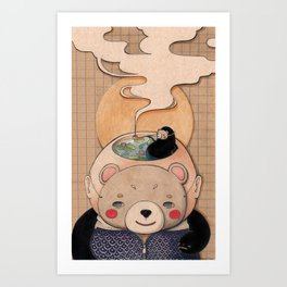 Satisfaction Art Print