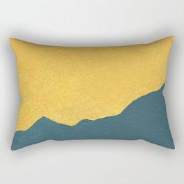 Georiga Sunset- turn yellow Rectangular Pillow