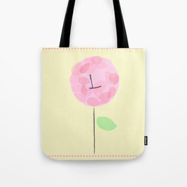 Flower L Tote Bag
