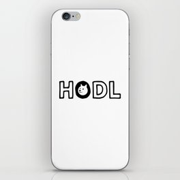 hodl dogecoin iPhone Skin