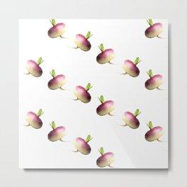 do you turnip? Metal Print