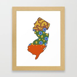 New Jersey Brook Trout Framed Art Print