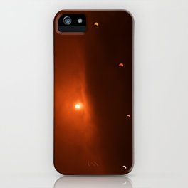 Solar Eclipse over Somerset, 2015 iPhone Case