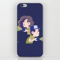 gravity falls iPhone & iPod Skins featuring Gravity Falls by Aysen Gerlach