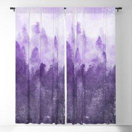 Ultra Violet Adventure Forest Blackout Curtain