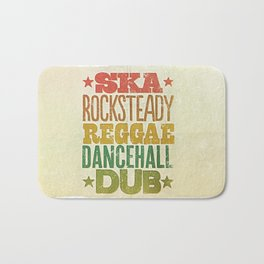 Shades of Reggae Bath Mat