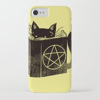 witchcraft iPhone & iPod Cases featuring Witchcraft Cat by Tobe Fonseca