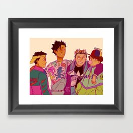 BAD FASHION  Framed Art Print