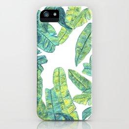 tropical daze iPhone Case