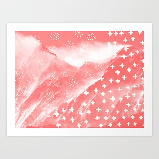 Mountain + Art Print