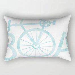 Watercolor 30A Bike Rectangular Pillow