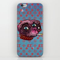 et iPhone & iPod Skins featuring ET Mofo by Beery Method