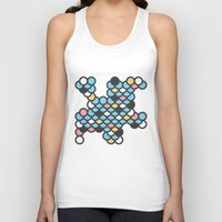 scales Tank Tops featuring Scales by SKUDIAdesigns