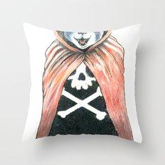 Cat Cape Throw Pillow