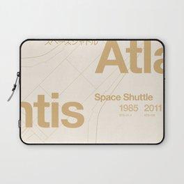 Atlantis - Blueprint & Data Laptop Sleeve