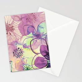 FLORAL PATTERN30 Stationery Cards