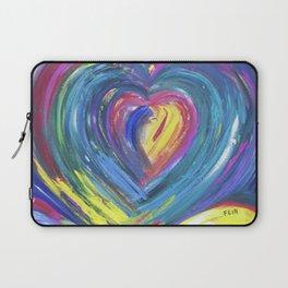 Heart by Sheila Fein Fantasy Pop Laptop Sleeve