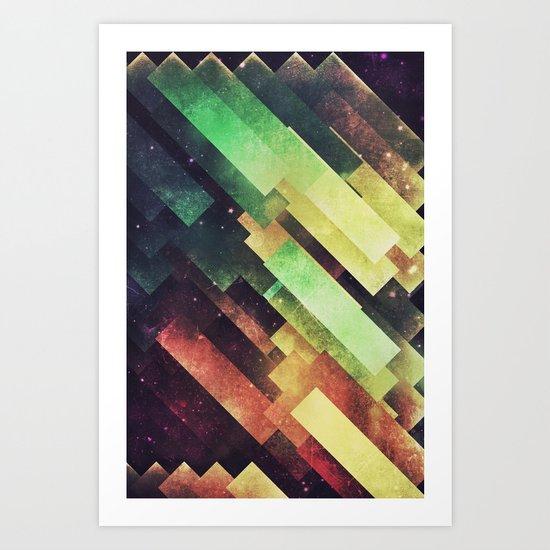 xyy byy Art Print