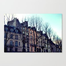 November in Paris Canvas Print