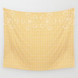 Skin Tone Lace Wall Tapestry